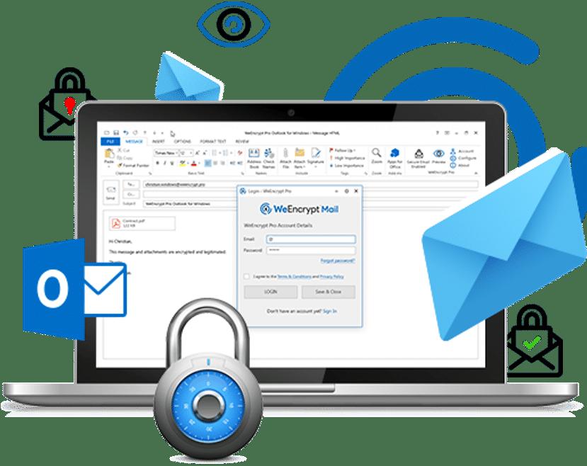 WeEncrypt Mail Screenshot - MRM Distribution