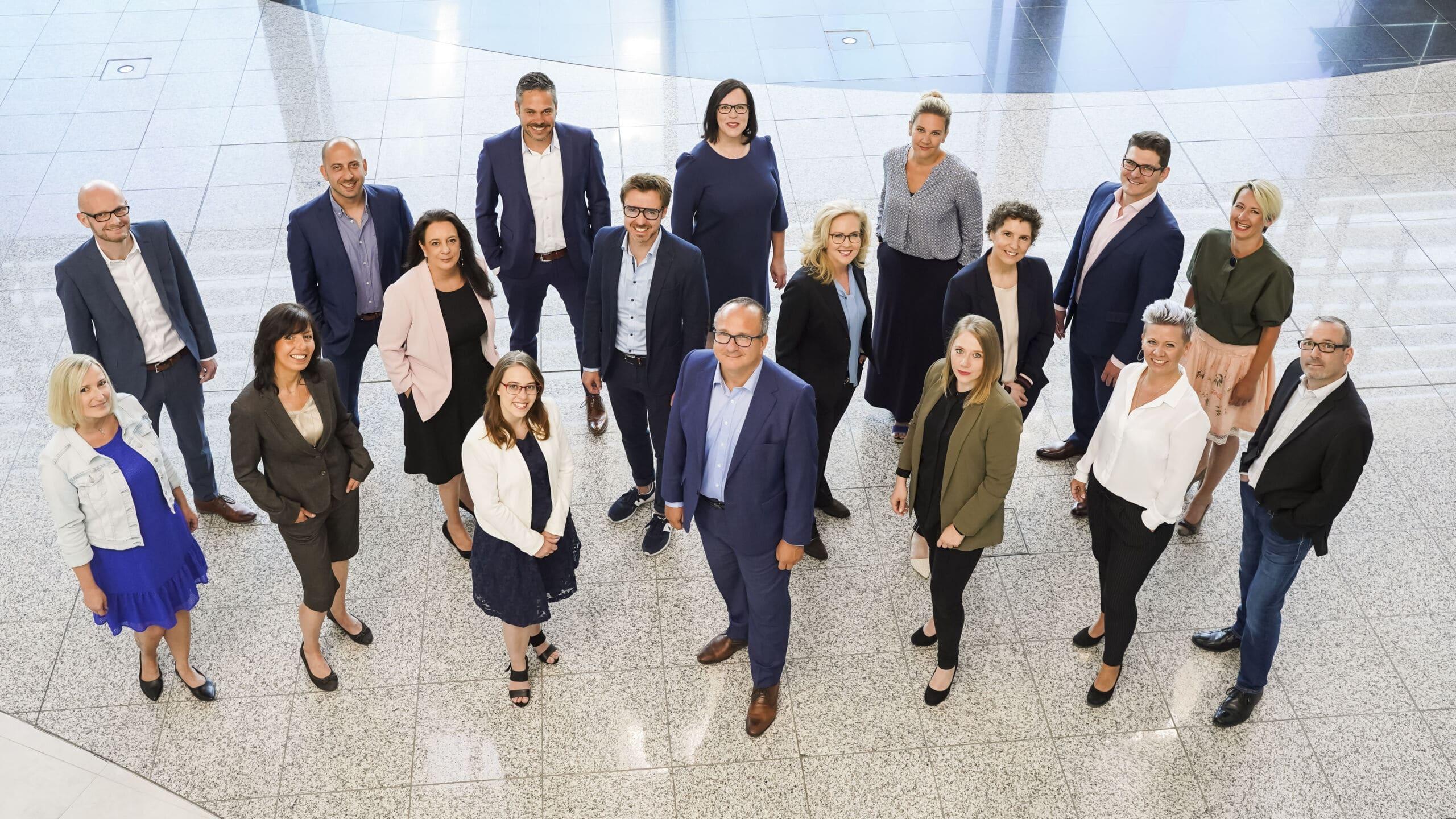 Das Team der MRM Distribution