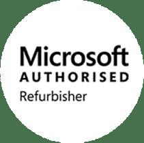 Microsoft Authorised Refurbisher Logo - MRM Distribution